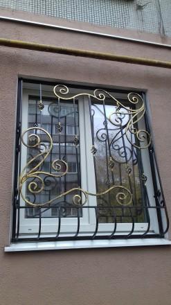 Изготовление решеток на окна от економ до елитного класа. Также изготовление вор. Запорожье, Запорожская область. фото 3