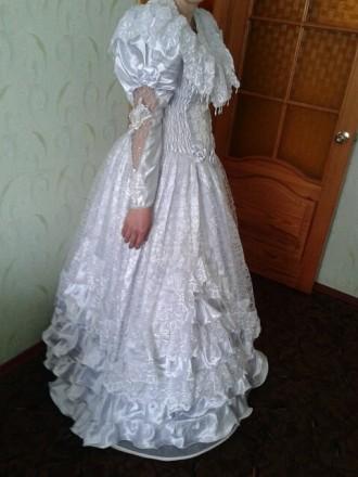 Свадебное платье дешевое. Глухов. фото 1