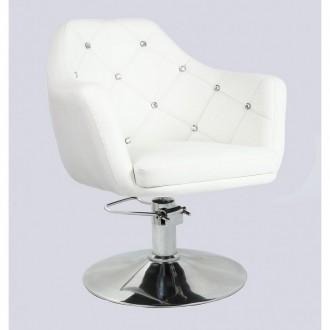 Кресло парихмахерское HC-830H белое. Киев. фото 1