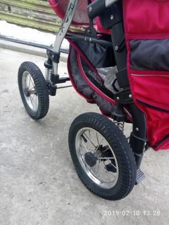 Ищите коляску-трансформер для принцессы? У нас есть такая!Розовая коляска-транфо. Днепр, Днепропетровская область. фото 3