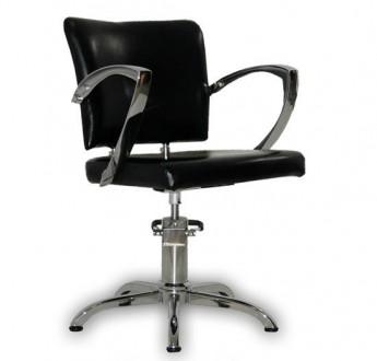 Парикмахерское кресло Palermo черное. Киев. фото 1