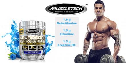 Предтренировочный комплекс Neurocore Pro series от MuscleTech (30 порций) USA. Киев. фото 1