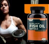 Омега - 3 Fish Oil от Optimum Nutrition (200 капсул) USA. Киев. фото 1