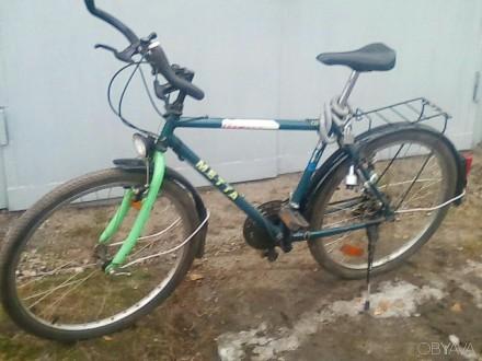 велосипед горно-дорожный. Лиман (Красный Лиман). фото 1