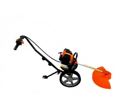 Ручная косилка на колесах GrunWelt GW-140HP Характеристика: Производитель: GrunW. Киев, Киевская область. фото 2