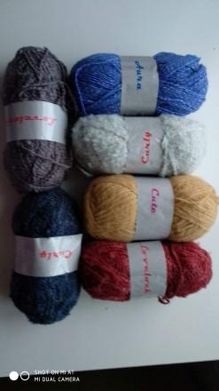 Пряжа для ручного вязания. Днепр. фото 1