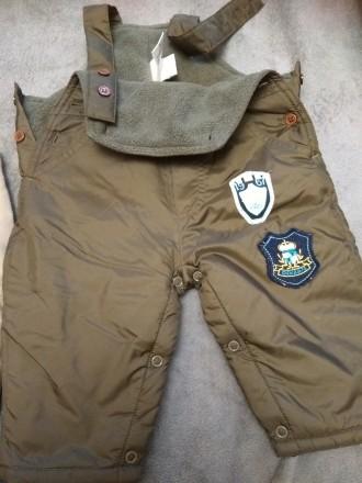 Утепленные классные штаны полукомбенизон комбинезон. Киев. фото 1