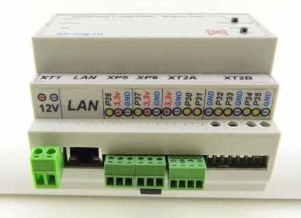 Умный дом! Ethernet-контроллер MegaD-2561 MegaD-2561 – новый проект в развитии . Харьков, Харьковская область. фото 5
