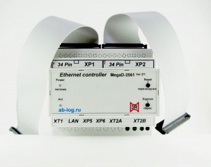 Умный дом! Ethernet-контроллер MegaD-2561 MegaD-2561 – новый проект в развитии . Харьков, Харьковская область. фото 4