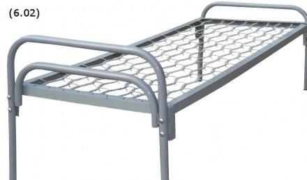 Металлическая кровать 190х70. Житомир. фото 1