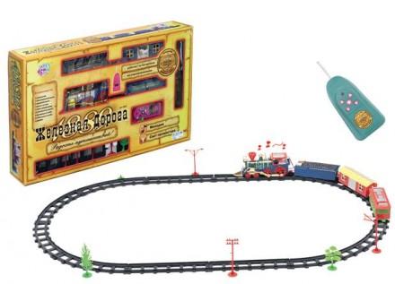 Детская железная дорога на радиоуправлении 0620. Лозовая. фото 1