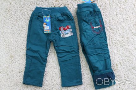 Отличные утепленные штанишки на мальчика 1 года. Производитель Польша. Новые, не. Сумы, Сумская область. фото 1