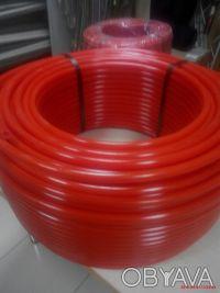 Труба сшитый поэлителен  для теплого пола с кислородным барьером  16х2,0 мм. Сумы. фото 1