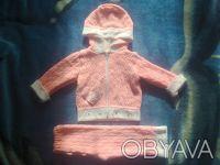 Продам костюмчик на девочку,в отличном состоянии,замеры:длина кофты - 32см,длина. Чернигов, Черниговская область. фото 2