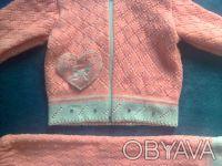 Продам костюмчик на девочку,в отличном состоянии,замеры:длина кофты - 32см,длина. Чернигов, Черниговская область. фото 3