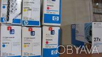 Картридж HP Q6001A (02A) (03A) оригинал. Киев. фото 1