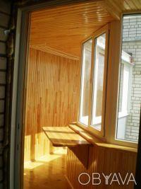 Балконы: отделка. Киев. фото 1