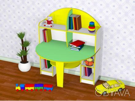 За таким столиком вашему ребенку будет очень комфортно заниматься    творчество. Харків, Харківська область. фото 1