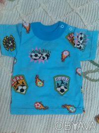 Футболочки для мальчиков и девочек разного цвета, на плечике есть 2 кнопочки, чт. Харьков, Харьковская область. фото 4
