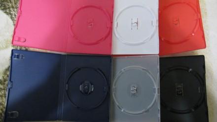Коробки для ДВД/СДисков(б/у, в отл. сост., на 1 диск, высокие, фирменные) - 9 гр. Сумы, Сумская область. фото 3