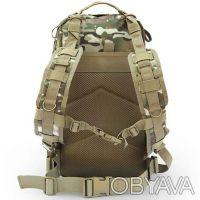 Рюкзак тактический (штурмовой) Abrams ― прочный рюкзак для охоты, рыбалки, туриз. Ивано-Франковск, Ивано-Франковская область. фото 8