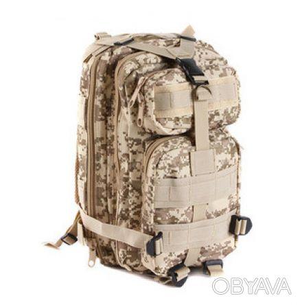Рюкзак тактический (штурмовой) Abrams ― прочный рюкзак для охоты, рыбалки, туриз. Ивано-Франковск, Ивано-Франковская область. фото 1