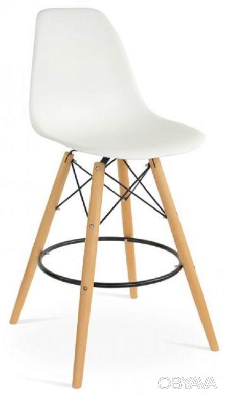 Барный стул Тауэр Вуд (Tower Wood), высокий, табурет, хокер, неповоротный, сиден. Киев, Киевская область. фото 1