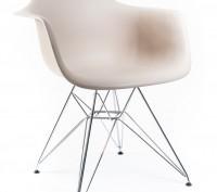 Кресло, сиденье пластиковое Тауэр (Tower), ножки хромированные, оригинальная фор. Киев, Киевская область. фото 13