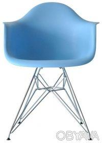 Кресло, сиденье пластиковое Тауэр (Tower), ножки хромированные, оригинальная фор. Киев, Киевская область. фото 5