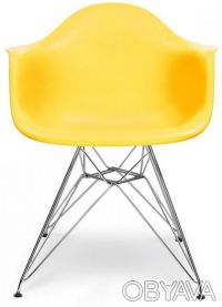 Кресло, сиденье пластиковое Тауэр (Tower), ножки хромированные, оригинальная фор. Киев, Киевская область. фото 3