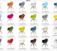 Кресло, сиденье пластиковое Тауэр (Tower), ножки хромированные, оригинальная фор. Киев, Киевская область. фото 12