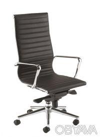 Кресло офисное Алабама Высокое (Alabama Hight), высокая спинка, сидение из проши. Киев, Киевская область. фото 3