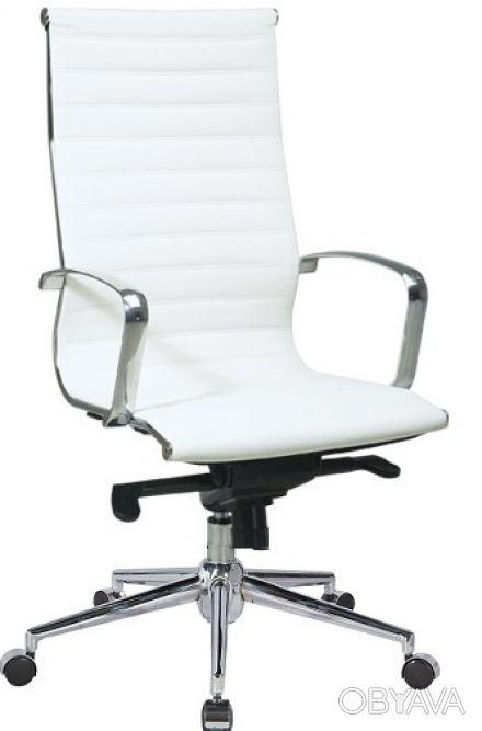 Кресло офисное Алабама Высокое (Alabama Hight), высокая спинка, сидение из проши. Киев, Киевская область. фото 1