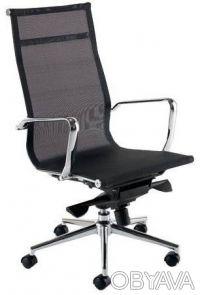 Офисное кресло Невада Высокое (Nevada Hight) из сетки для руководителей офиса. Киев. фото 1