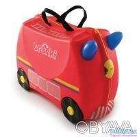 093-347-50-97 Красный Транки чемоданчик в виде Пожарной Машины (Trunki Freddie). Киев, Киевская область. фото 2