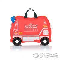 093-347-50-97 Красный Транки чемоданчик в виде Пожарной Машины (Trunki Freddie). Киев, Киевская область. фото 3