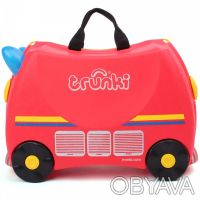 093-347-50-97 Красный Транки чемоданчик в виде Пожарной Машины (Trunki Freddie). Киев, Киевская область. фото 4