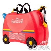 093-347-50-97 Красный Транки чемоданчик в виде Пожарной Машины (Trunki Freddie). Киев, Киевская область. фото 5