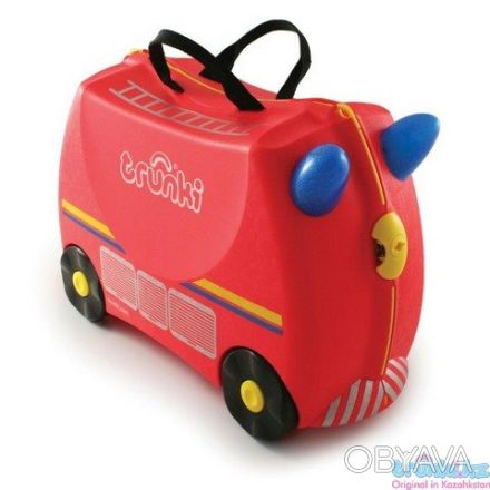 093-347-50-97 Красный Транки чемоданчик в виде Пожарной Машины (Trunki Freddie). Киев, Киевская область. фото 1
