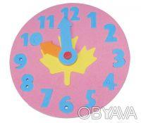 Часики-пазлы. Отлично подойдет для изучения цифр и времени. Это увлекательная ра. Киев, Киевская область. фото 4