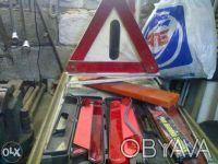Аптечка аварийный знак. Кривой Рог. фото 1