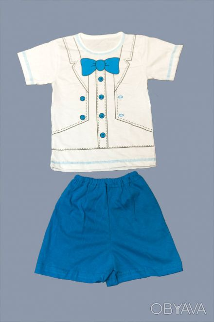 Летний комплект для мальчиков  -    футболка     и шорты.     Материал - кулир. Одесса, Одесская область. фото 1