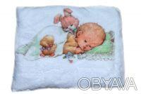 Теплый мягенький новый детский плед из белого вельсофта, очень приятный наощупь.. Одеса, Одеська область. фото 7
