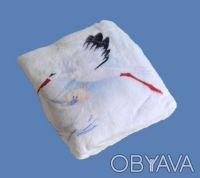 Теплый мягенький новый детский плед из белого вельсофта, очень приятный наощупь.. Одесса, Одесская область. фото 4