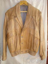 Куртка кожаная Vera Pelle. Кривой Рог. фото 1