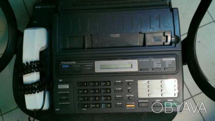Продам факс за ненадобностью. Факс рабочий, отсутствует трубка. Телефон-факс-авт. Киев, Киевская область. фото 1