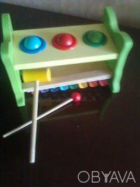Прикольная игрушка с молоточками для юных музыкантов, 3 шарика для забивания в л. Одесса, Одесская область. фото 3