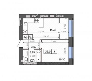 Придбайте квартиру в житловому комплексі Нові метри Парк- це в 10 хвилинах від с. Ирпень, Ирпень, Киевская область. фото 4