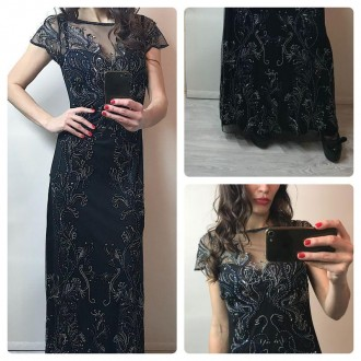 Дуже красиве плаття розшито камнями і паєтками Miss Selfridge  p.s,m. Львов. фото 1