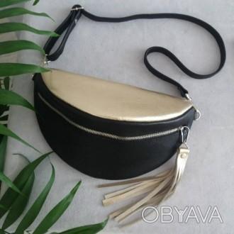503423602fe6 ᐈ Кожаная бананка. Кожаная сумка. Сумка на пояс. Поясная сумка ...